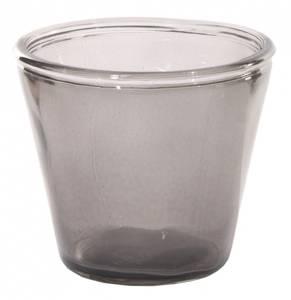 Bilde av Glasskrukke, grå
